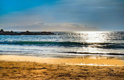 Beach view at Tenerife, Spain Royalty Free Stock Photography