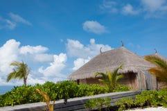 Beach villa Stock Images