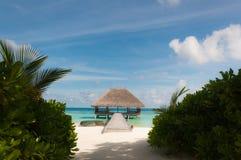 Beach villa Royalty Free Stock Image