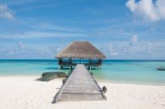 Beach villa Royalty Free Stock Photo