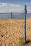 Beach volley Stock Image