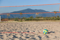 Beach Volley Royalty Free Stock Photos