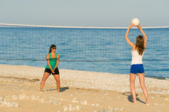 Beach volley Stock Photo