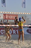 Beach volley Stock Photography