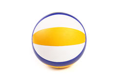 Beach volley ball. Isolated on white background Stock Photography