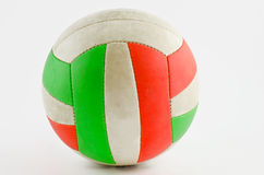 Beach volley ball. On a white background Royalty Free Stock Images