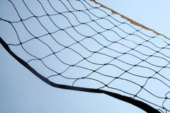 Beach volley ball net Royalty Free Stock Image