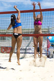 Beach volley  championchip (rome) Royalty Free Stock Photography
