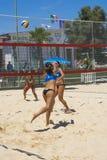 Beach volley  championchip (rome) Stock Photos