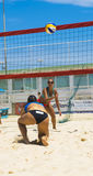 Beach volley  championchip (rome) Royalty Free Stock Photos