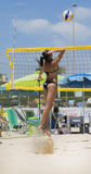 Beach volley  championchip (rome) Royalty Free Stock Photo