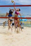 Beach volley  championchip (rome) Stock Photo