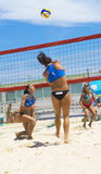 Beach volley  championchip (rome) Stock Photography