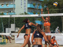 Beach Volley Championship 2015 (FINAL) Royalty Free Stock Photography