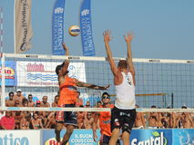 Beach Volley Championship 2015 (FINAL) Royalty Free Stock Photo