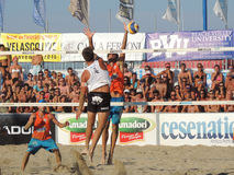 Beach Volley Championship 2015 (FINAL) Stock Image