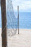 Beach volley net Royalty Free Stock Photos