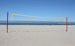 Beach volley net Stock Photography
