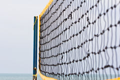 Beach volley net Stock Photos