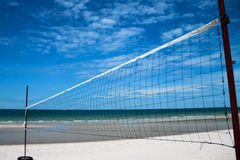 Beach Volley Play ground Royalty Free Stock Images