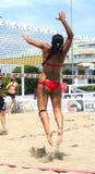 Beach volley (rome) Stock Photos