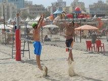 Beach Volley Emilia Romagna 2015 (U19 - U21) Royalty Free Stock Photo