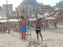 Beach Volley Emilia Romagna 2015 (U19 - U21) Stock Photography