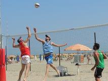 Beach Volley Emilia Romagna 2015 (U19 - U21) Stock Image