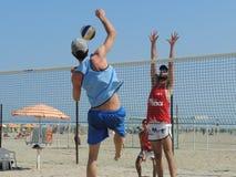 Beach Volley Emilia Romagna 2015 (U19 - U21) Royalty Free Stock Photos