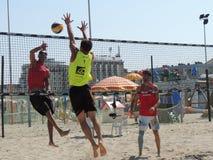 Beach Volley Emilia Romagna 2015 (U19 - U21) Stock Photos
