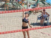 Beach Volley Championship 2015 (U19 - U21) Stock Photo