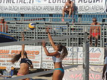 Beach Volley Championship 2015 (U19 - U21) Royalty Free Stock Photography