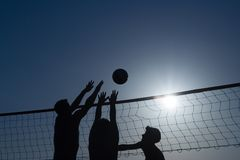 Free Beach Volleyball Royalty Free Stock Photos - 2138568