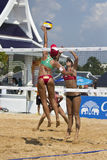Beach Volleyball. Royalty Free Stock Images