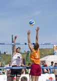Beach Volleyball Royalty Free Stock Photos