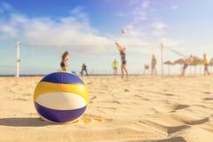 Free Beach Volleyball Stock Image - 69946981