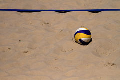 Beach Volleyball Ball Stock Image