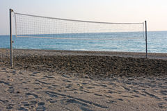 Beach Volleyball Court Royalty Free Stock Images