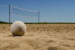 Beach volleyball court Stock Photography