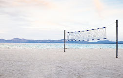 Beach volleyball Stock Images