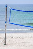 Beach-Volleyball field at a beach Royalty Free Stock Photo