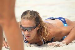 Beach volleyball - Georgina Klug Stock Photo