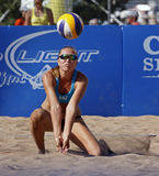 Beach volleyball kazakhstan Royalty Free Stock Photos