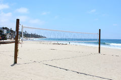 Beach Volleyball, Laguna Beach, California Stock Image
