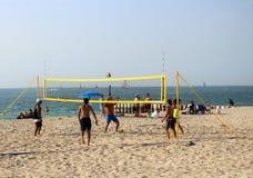 Beach Volleyball royalty free stock photos