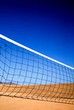 Beach volleyball net Stock Photos