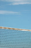Beach volleyball net Royalty Free Stock Images