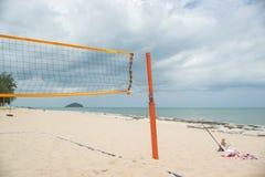Beach Volleyball net Royalty Free Stock Photo