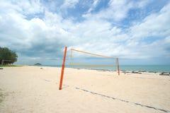 Beach Volleyball net Stock Image