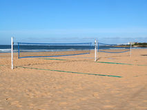 Beach Volleyball Net SPORT Stock Images